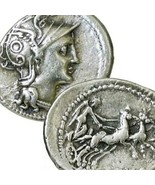 ROMA, Victory driving Two Horse Chariot. Authentic Ancient Roman Coin. C... - $314.10