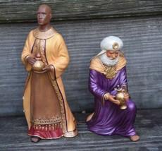 "2005 Hallmark Porcelain Nativity Black Wiseman Figurine 7 1/2"" Tall or Kneeling - $23.99"