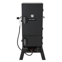Masterbuilt Vertical Smoker Propane Gas 4-Chrome-Coated Smoking Racks Black - $179.89