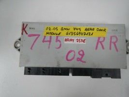 BMW 7 SERIES  REAR RIGHT  DOOR MODULE  # 61356947121 (RELAY- 257-E) - $14.80