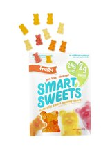 Smart Sweets Naturally Sweet Gummy Bears Fruity 6 bags 50g each  - $69.99