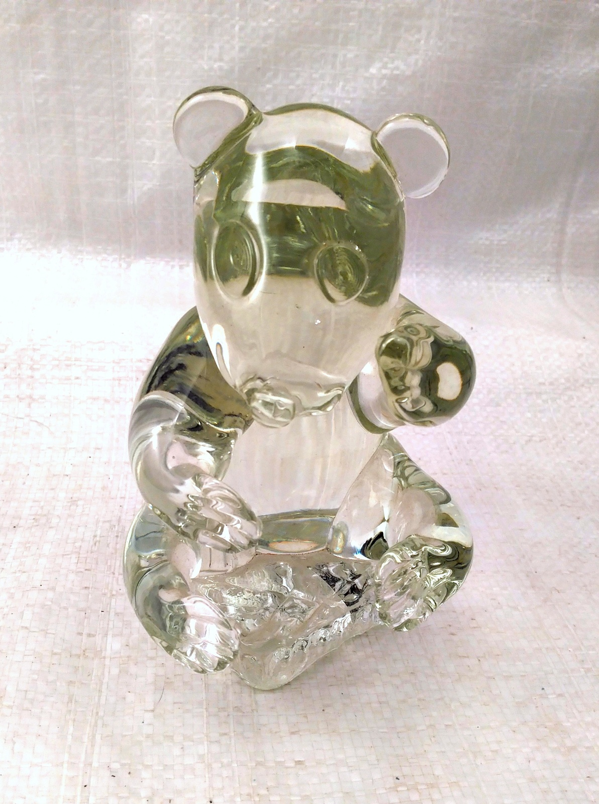 Lead Crystal Panda Bear