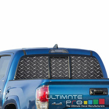 Sticker Bomb Skin Window See Thru Stickers Perforated for Toyota Tacoma 2018  - $59.80