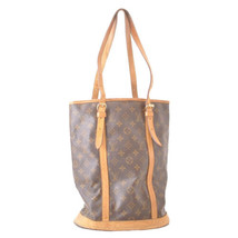 LOUIS VUITTON Monogram Bucket GM Shoulder Bag M42236 LV Auth ar2059 **St... - $180.00