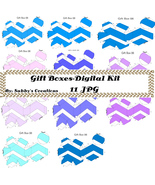 Gift Boxes47-Digtial Paper-Art Clip-Gift Tag-Jewelry-Candy Box - $1.99