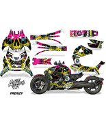 Full Body Wrap Graphic Sticker Decal for Can-Am Ryker 2019 - Frenzy Yellow - $287.05