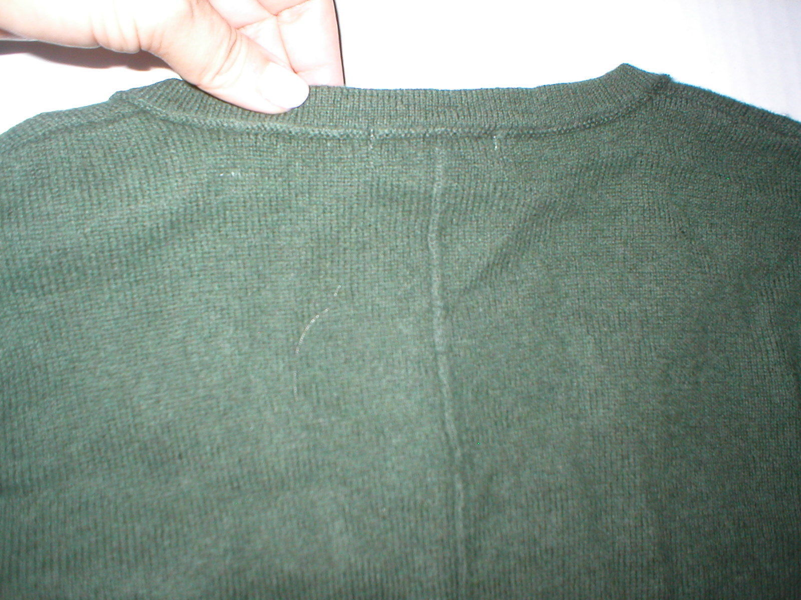 NWT New Womens Sweater Extra Soft Gabriella Rossi Cashmere S Dark Green 2 ply image 5