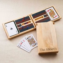 Personalized Wood Cribbage Game - $33.65