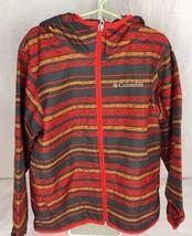 Columbia Girls Whitetail Trail Omni Wick Jacket orange gray size youth XS - $25.95