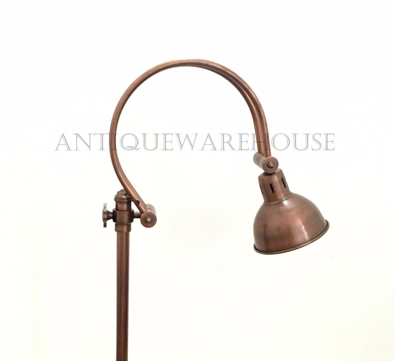 Vintage Desk Adjustable Copper Lamp Handmade Modern Floor lamp Home Decorative