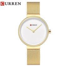 CURREN New Women Watch Fashion Dress Ladies Watches Stainless Steel Wristwatch H - $51.47