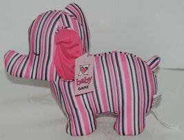 Baby Ganz Girl Pink Black White Stripped Matching Gift Set image 4