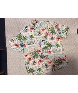 Mens XL JAMS WORLD Rayon short sleeve Travel Shirt Handsome & NICE! - $31.72