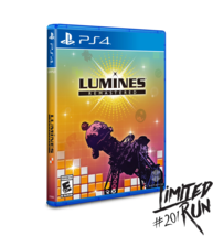 Limited Run #201 Lumines Remastered Exclusive Limited Edition PS4 Game - $24.99
