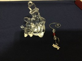 Waterford Ornament Crystal 2007 Jolly Snowman Figurine New In Box w/LABEL - $74.80