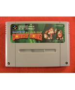 Super Donkey Kong Country (Nintendo Super Famicom SNES SFC, 1994) Japan ... - $12.29