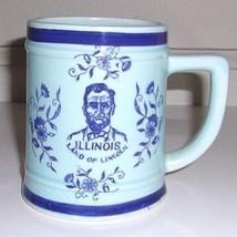 Spin Original Illinois Land of Lincoln Coffee Mug. Made in Japan - $6.27