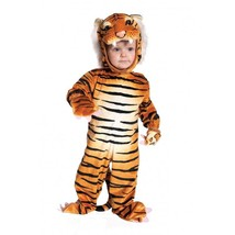 Underwraps Tiger Brown Animal Cat Toddler Infant Boys Halloween Costume ... - $27.99