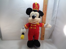 Disney Mickey Mouse Band Leader 50th Anniversary Plush Stuffed Animal To... - $9.89