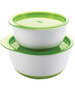 OXO Tot Small & Large Bowl Set with Snap On Lids - Green - $132.00