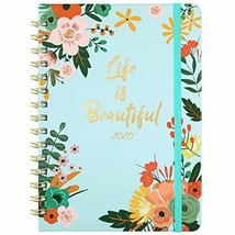 2020 Planner - Weekly & Monthly Planner with Tabs, Floral Cover with Twi... - $8.23