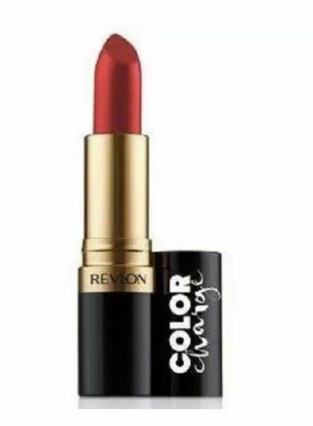 Revlon Super Lustrous Lipstick Color Charge Collection #027 Pure Red Matte - $6.52
