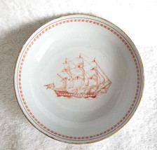 Spode Saucer Bowl Copeland England Kinafareren Christianshawn Ship 1965 - $12.95