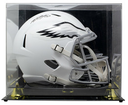 DeSean Jackson Signed Full Size Matte White Spd Rep Helmet w/Case JSA - $345.51