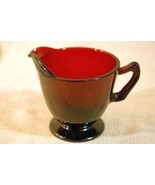 Anchor Hocking Royal Ruby Red Footed Creamer - $4.40