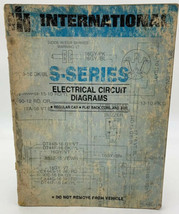 International Wirng Diagrams S-Series IH S Electrical Circuit Manual 20-1 - $12.30