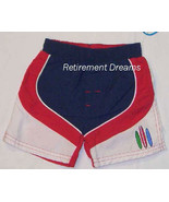 Boys 12M 12 M Blue Swim Shorts Bathing Trunks Suit NEW Surf Board Red White - $6.00