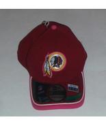NWT New Washington Redskins New Era 39Thirty Breast Cancer Size M/L Flex... - $15.11