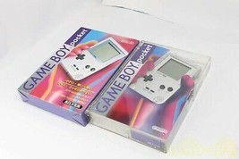Nintendo Game Boy Pocket Light Silver Handheld System Working from Japan - $219.37