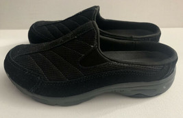 Easy Spirit Womens Hotrace Slip-On Shoe Round Toe Women's Size 6 Black Sneaker - $47.40
