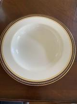 Spode Copeland's England Majestic Lg Soup Bowl White w/Cobalt & Gold Chain - $28.49