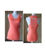 $44.00 Jessica Simpson Junior's Strappy Racerback Workout Top, S, Hibisc... - $11.14