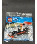 LEGO 30358 CITY Dragster Polybag (Brand New & Sealed) - $10.00