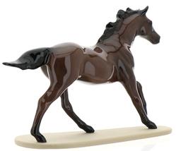 "Hagen-Renaker Miniature Ceramic Horse Figurine Thoroughbred ""Seabiscuit"" image 4"
