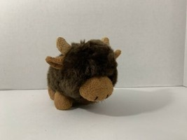 Russ Berrie & CO. plush brown Cody buffalo - $19.79