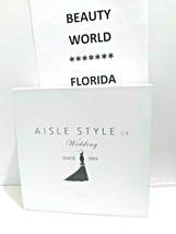 AISLE STYLE Girls Low Mid Heel Party Wedding Mary Jane Style Shoes Size 28 UK image 2