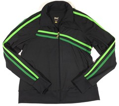 Everlast Mens Jacket Spellout Boxing Active Warm Up Track Full Zip Strip... - $31.78