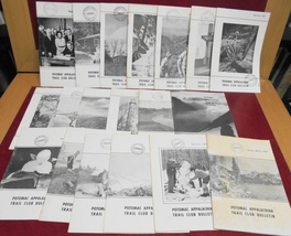 20 Potomac Appalachian Trail Club Bulletin 1964-68 Nature Hiking Camping... - $25.00