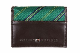 Tommy Hilfiger Men's Leather Credit Card Wallet Passcase Trifold 4311/02 image 2