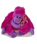 "Dan Dee Purple Gorilla Ape Monkey Plush Sits 7"" Stuffed Animal Toy - $7.50"