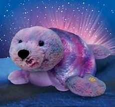 """New Glow Pets Pillow Pets Shimmering Seal 16"""" As Seen on TV - NIB - $16.00"""