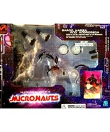 MICRONAUTS Collectible Baron Karza and Andromeda Action Figures (Clear) ... - $217.31