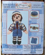 """18"""" Raggedy Andy Crochet Rag Doll & Clothes Kit #37876 Sealed New in Box - $22.99"""