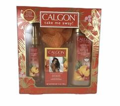 Calgon Hawaiian Ginger by Calgon Take me away 4 Piece Gift Set Body Wash... - $16.39