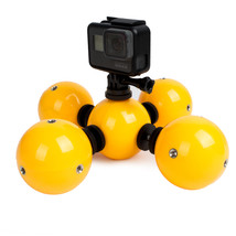 Floating Ball Bobber Float with Safety Lanyard Strap for Gopro SJCAM Xia... - $67.53