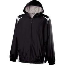 NEW HOLLOWAY 229076-420 COLLISION JACKET BLACK/WHITE - $39.99